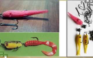 Как сделать поролоновую рыбку своими руками на судака – изготовление