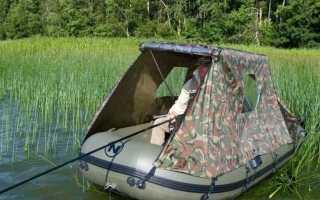 Тент на лодку ПВХ своими руками – материалы, рекомендации по изготовлению