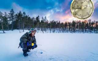 В какую погоду лучше ловить рыбу – температура, ветер, атмосферное давление