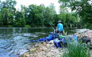 Фидерная оснастка для ловли на течении – особенности ловли фидером