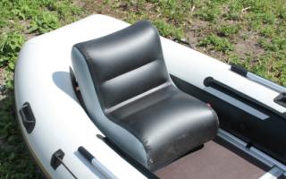 Надувные кресла для лодок ПВХ – лучшие модели, описание и цены