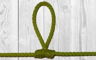 Как завязать петлю на леске – виды вязания и перечень действий