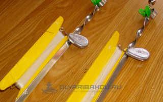 Закидушки на карася – необходимые материалы, процесс изготовления