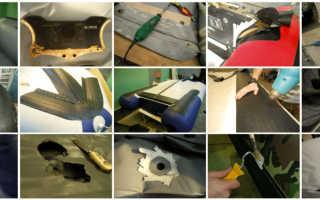 Ремонт лодки ПВХ своими руками – ремонт клапана, транца и выбор клея